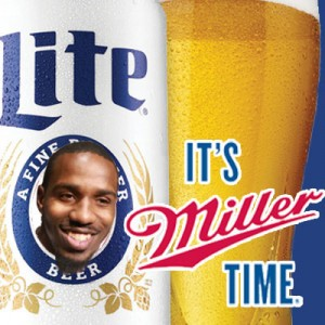 Miller time---Lamar-Miller---Miller-Light