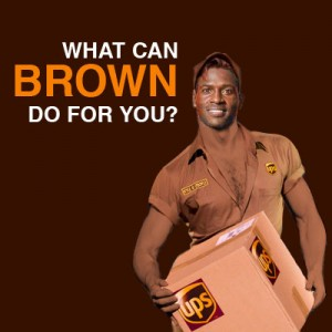 What Can Brown Do For You - Antonio Brown - UPS