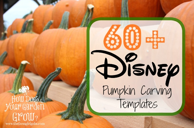 Disney Pumpkin Carving Ideas - #DisneySide - disney pumpkin templates