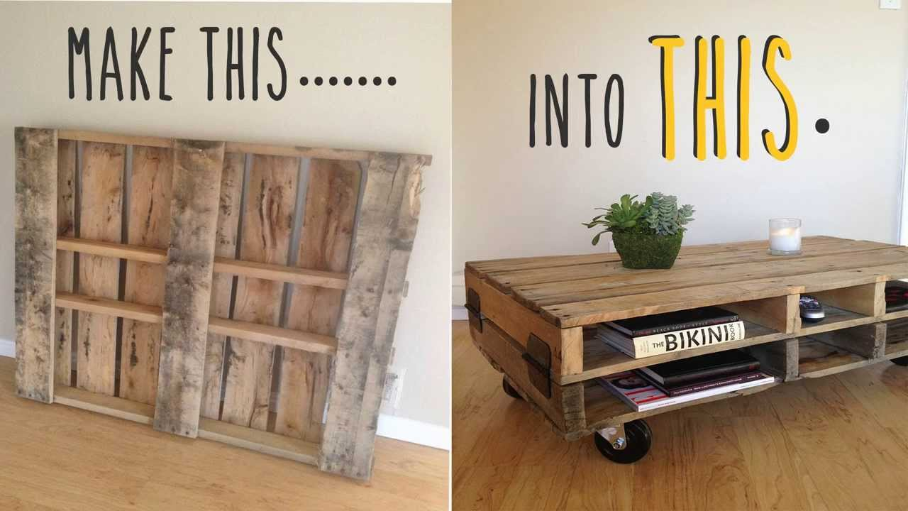 Diy Table With Pallets 3 Creative Diy Table Designs The Fashionable Housewife