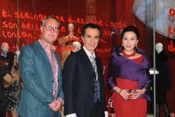 Andrew Keith, Romeo Gigli and Carina Lau