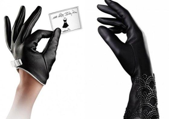 Thierry Wasser scented gloves