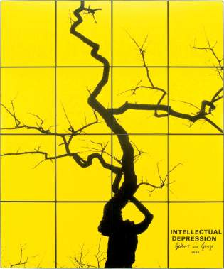 Gilbert and George, Intellectual Depression, 1980