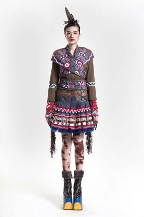 A MIAO INSPIRED DRESS BY IKA