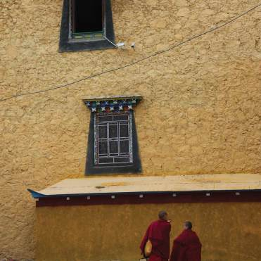 Songzanlin monastery monks