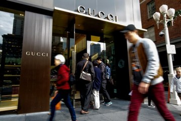 A Gucci store in San Francisco