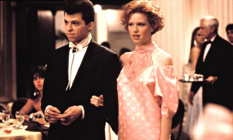 The essential 'movie' prom … Jon Cryer and Molly Ringwald in Pretty in Pink.