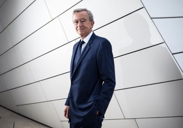 Bernard Arnault, the chairman and chief executive of LVMH Moët Hennessy Louis Vuitton