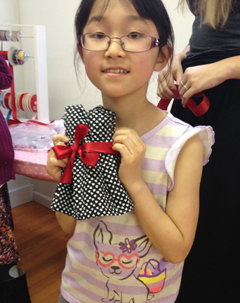 Package 2: American Girl Doll Dress Making Party