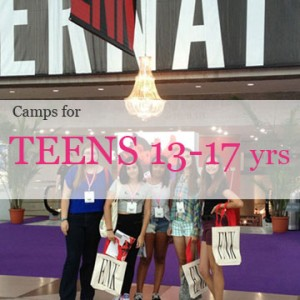 Sewing summer camp for teenagers in NYC