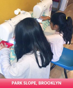 fashion design sewing class for kids in park slop brooklyn