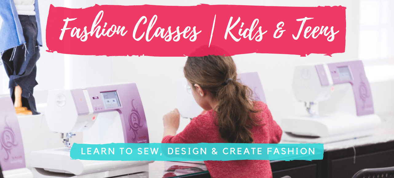 Kids Fashion Design Sewing Classes in Brooklyn Manhattan Long Island