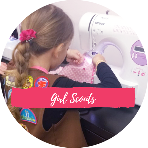 Girl Scout Sewing Lessons