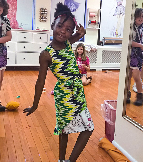 Sewing and fashion classes for Kids