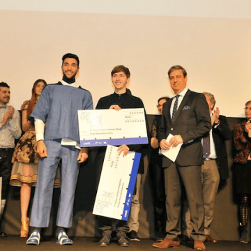 James White, Winner of the 2015 European Young Designers Contest