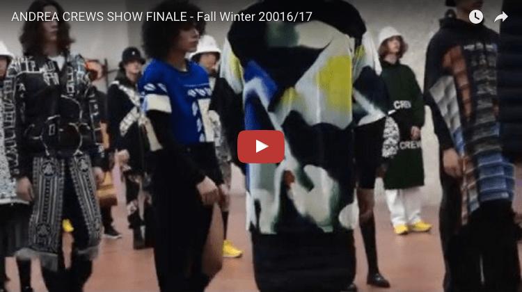 ANDREA CREWS SHOW FINALE - Fall Winter 2016/17