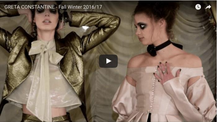 GRETA CONSTANTINE - Fall Winter 2016/17 (Video)