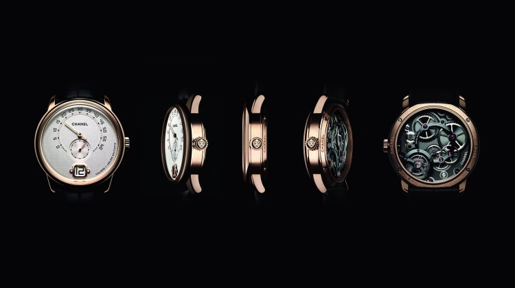 "CHANEL INTRODUCES ITS NEW ""LE MONSIEUR"" WATCH"