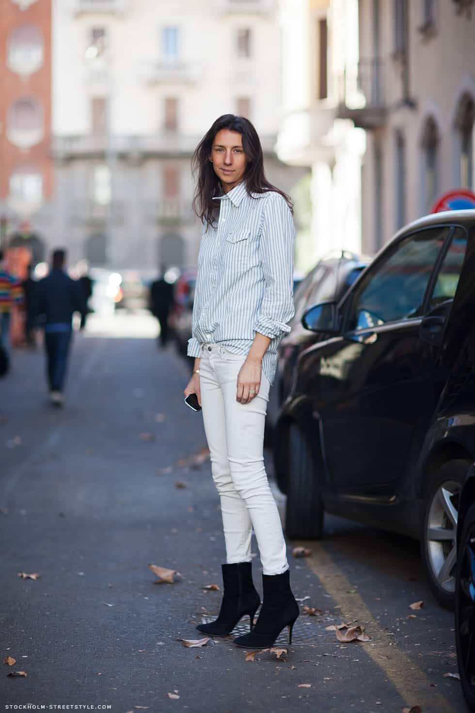 White Jeans In Winter What Do You Think The Fashion