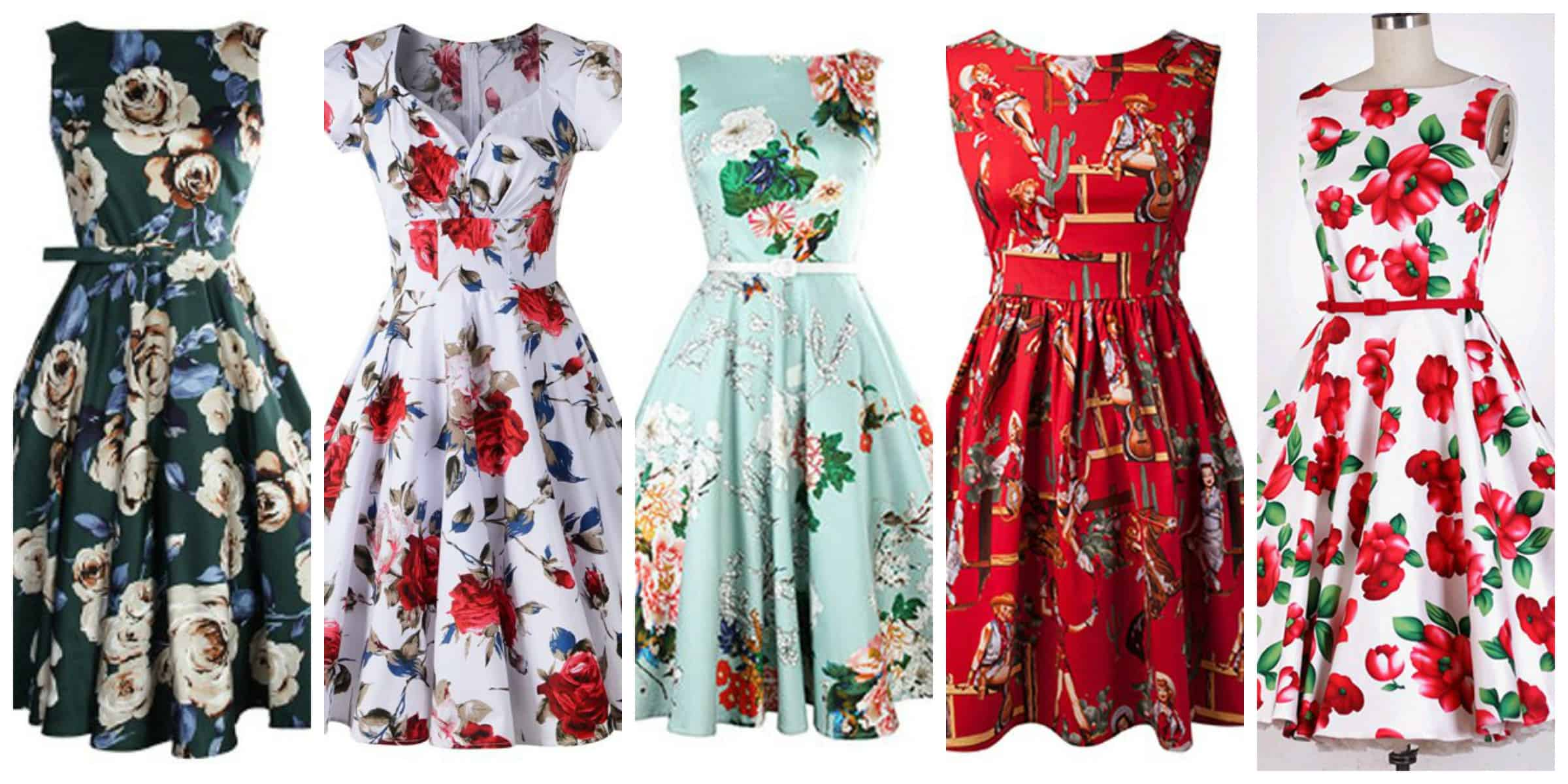 Look Retro Retro Dresses 3 Styles To Shop And Rock The Fashion Tag Blog
