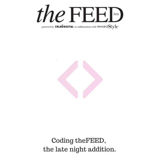 coding theFEED