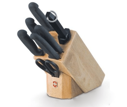 victorinox kitchen knives piece kitchen knife block set chef knives reviews ratings cook illustrated