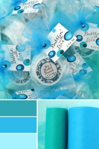 What Color Matches Blue? | Palette Ideas from The Favor ...
