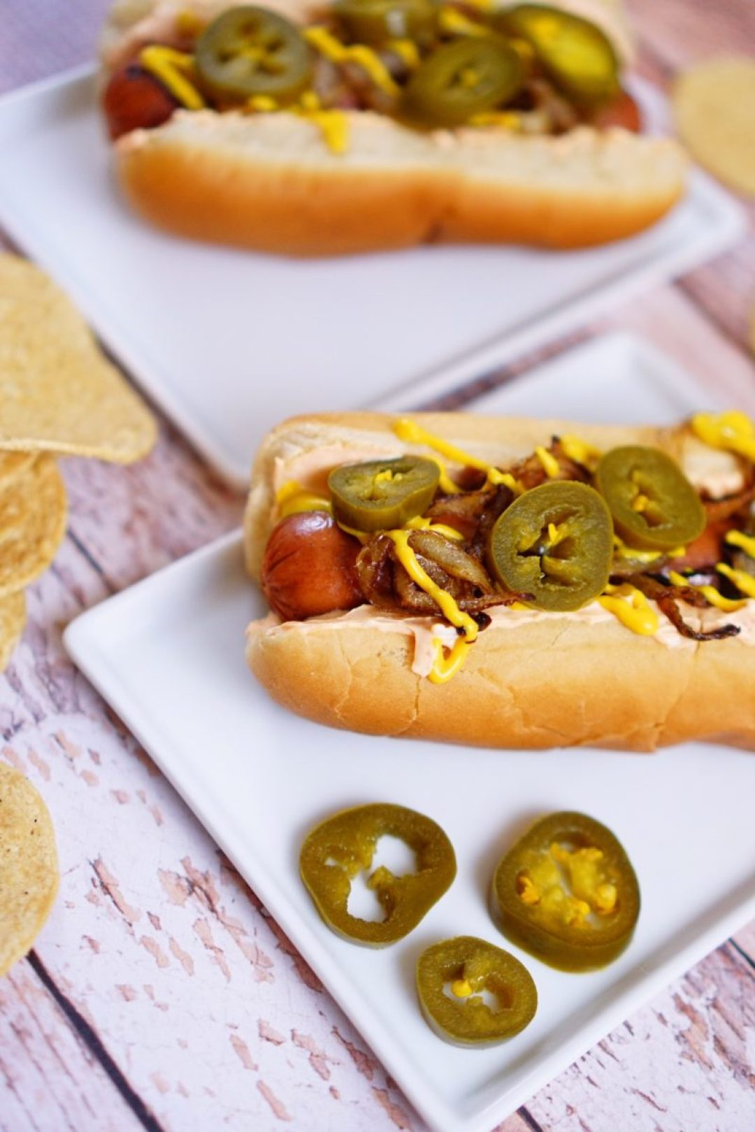 Seattle Hot Dog With Cream Cheese