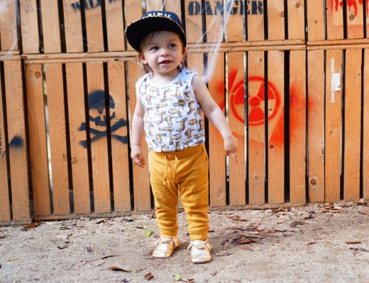 Cute Toddler Outfit ft. Freshly Picked + Giveaway!