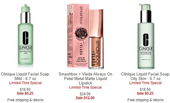 Macy39s Clinique Smashbox 50 Off Great Time To Stock Up