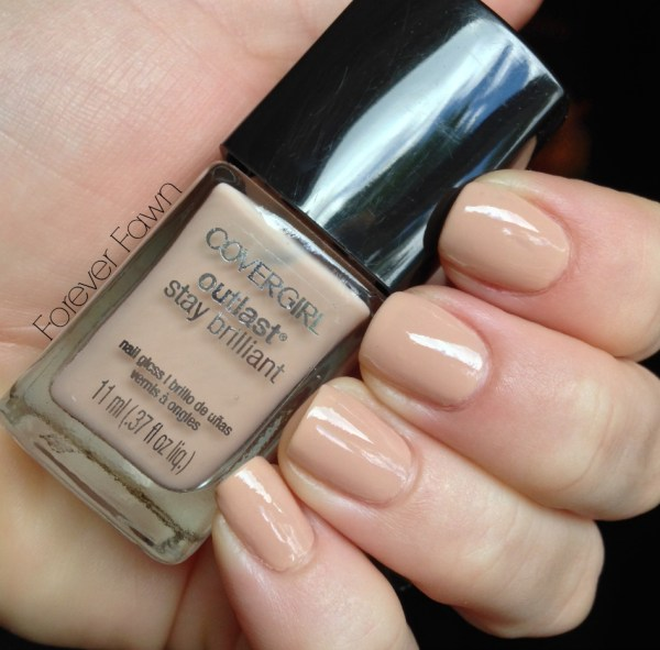Covergirl Forever Fawn Nail Polish