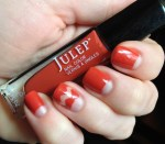 Negative Space Mani with Julep Brielle