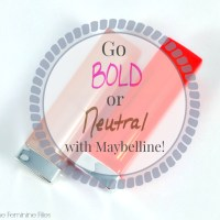 Go Bold or Neutral with Maybelline Color Sensational Lipsticks