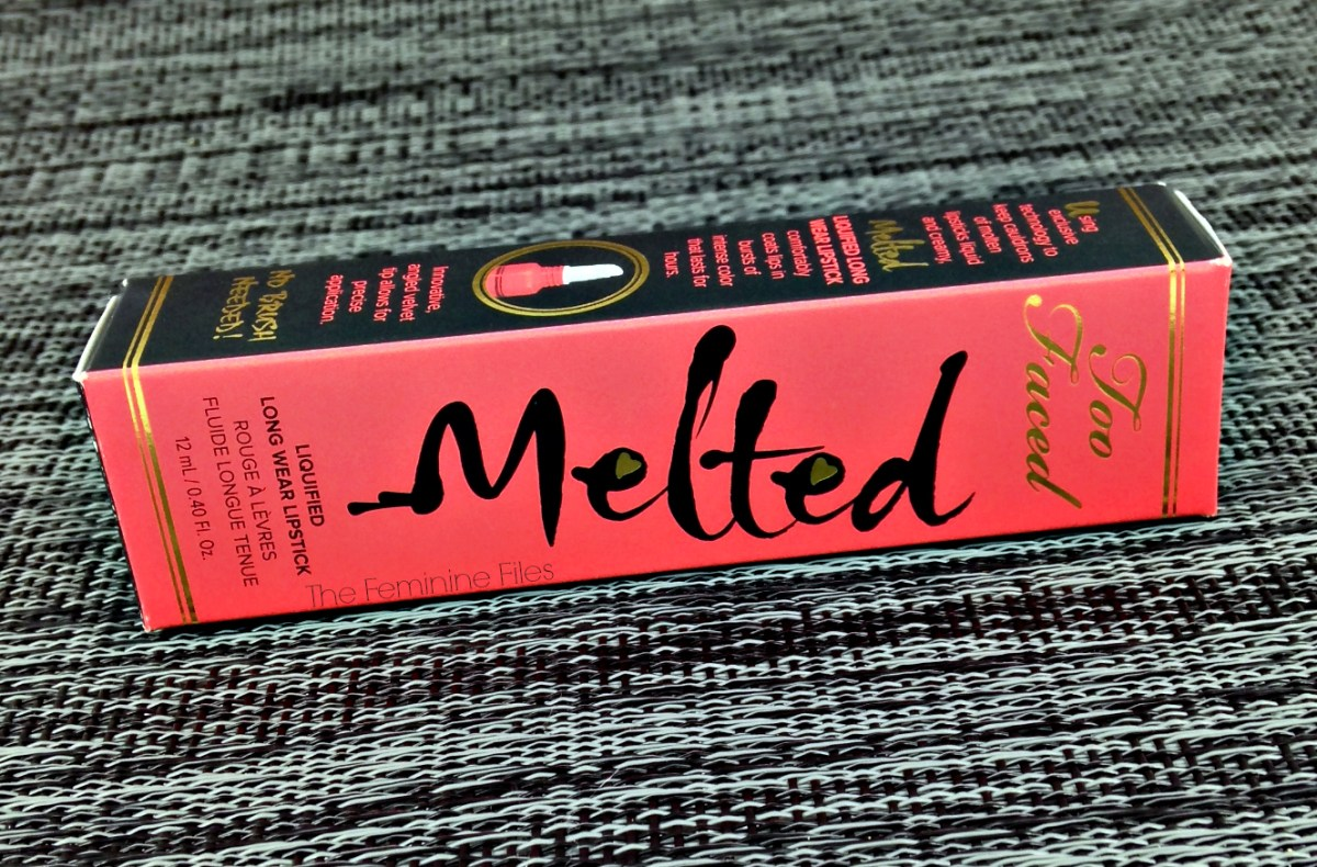 Too Faced Melted Melon Lipstick