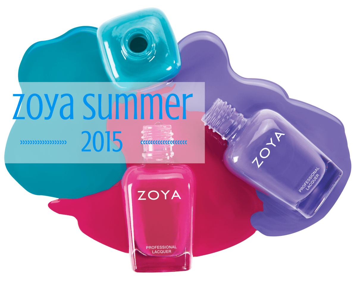 Preview: Zoya Summer 2015 Collections!