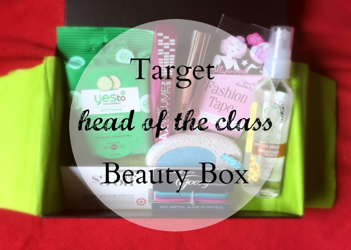 "Target ""Head of the Class"" Beauty Box"