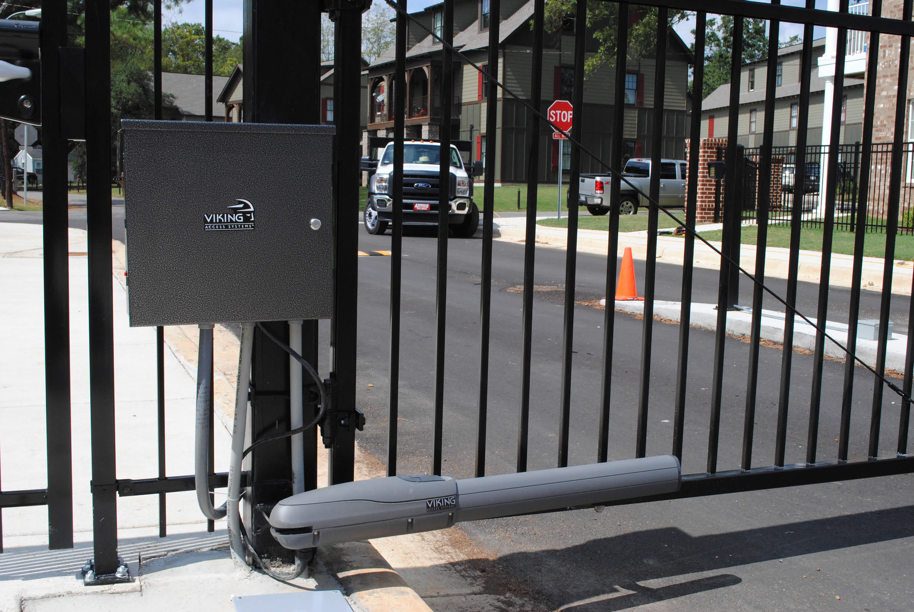 Automatic Gates Openers Residential Gate Operator Anniston Al The Fence Place