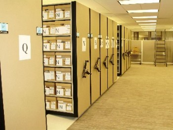 Archive Box Storage Shelving Systems High Density