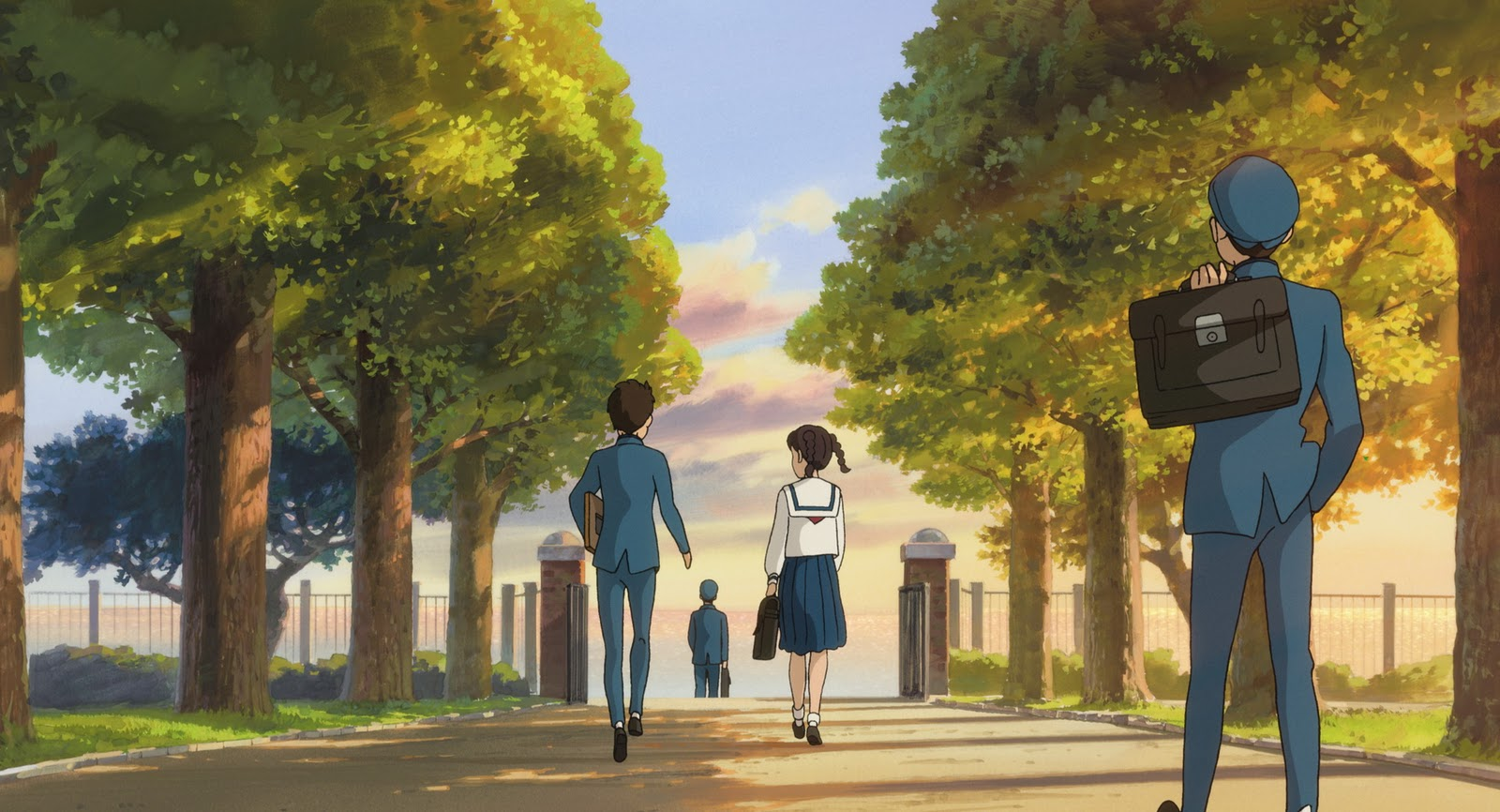 Fall Out Boy Wallpaper Studio Ghibli Debuts First Trailer For From Up On Poppy Hill
