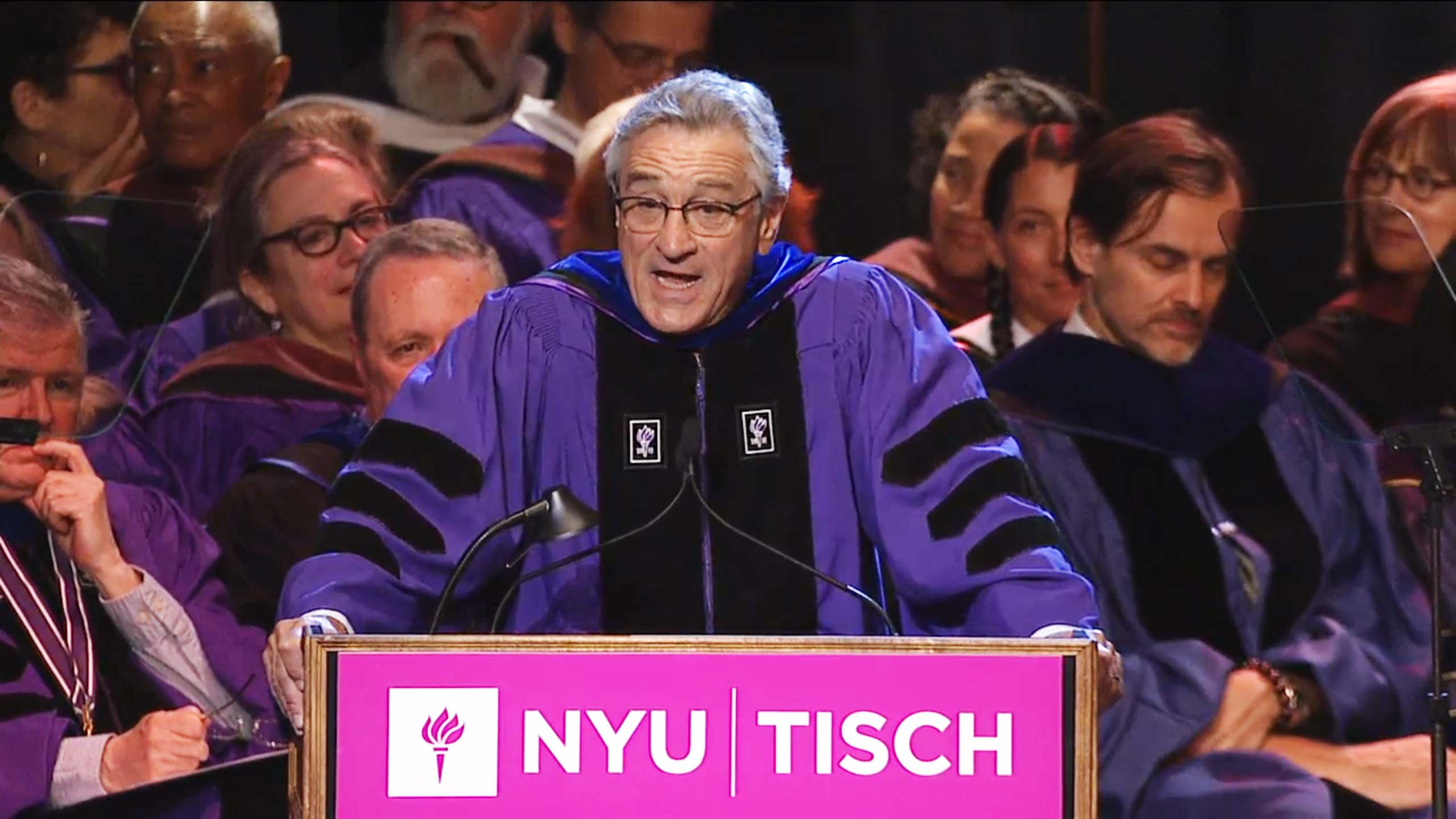 Tisch School Of The Arts Board Of Directors Watch Robert De Niro 39s Speech To 2015 39s Nyu Tisch Graduates