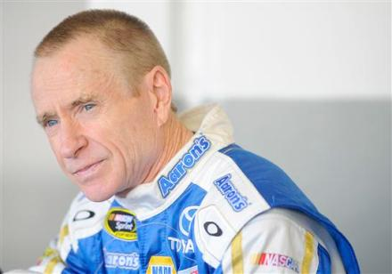 Mark Martin To Replace Injured Denny Hamlin In Joe Gibbs Racing No. 11 Fedex Toyota
