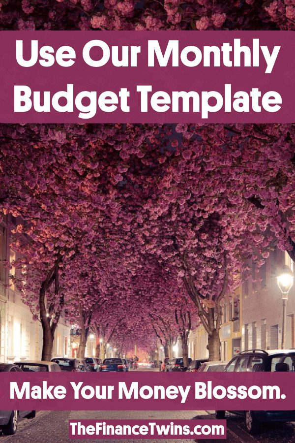 Free Monthly Budget Template - Make Your First Budget Now