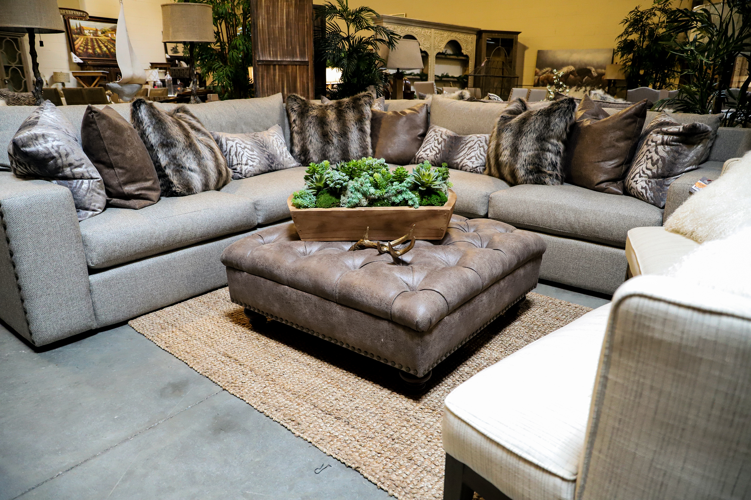 How To Pull Off A Big Sectional In A Small Space The Find Reno