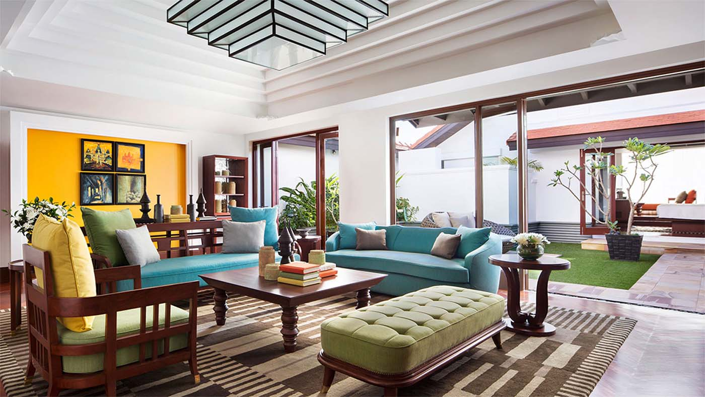 Inspired By Khmer Architecture, The Total 104 Rooms And Suites Are  Decorated With Hundreds Of Local Artefacts, As Well As Paintings And  Photographs With ...