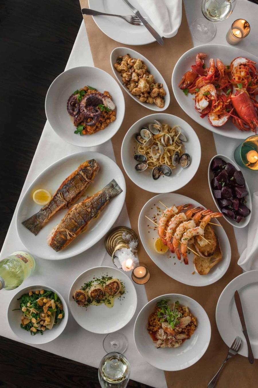 The finest magazine christmas dinner spirit of festive for 7 fish dinner