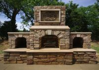 Outdoor Fireplace Kits - Masonry Fireplaces - Easy ...