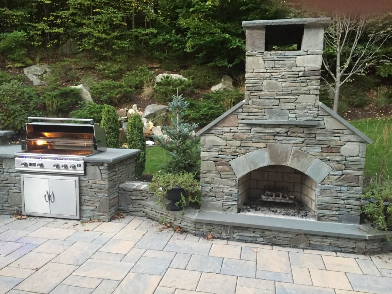 Outdoor Fireplace Contractors Outdoor Fireplace Kit Contractor Series For Easy