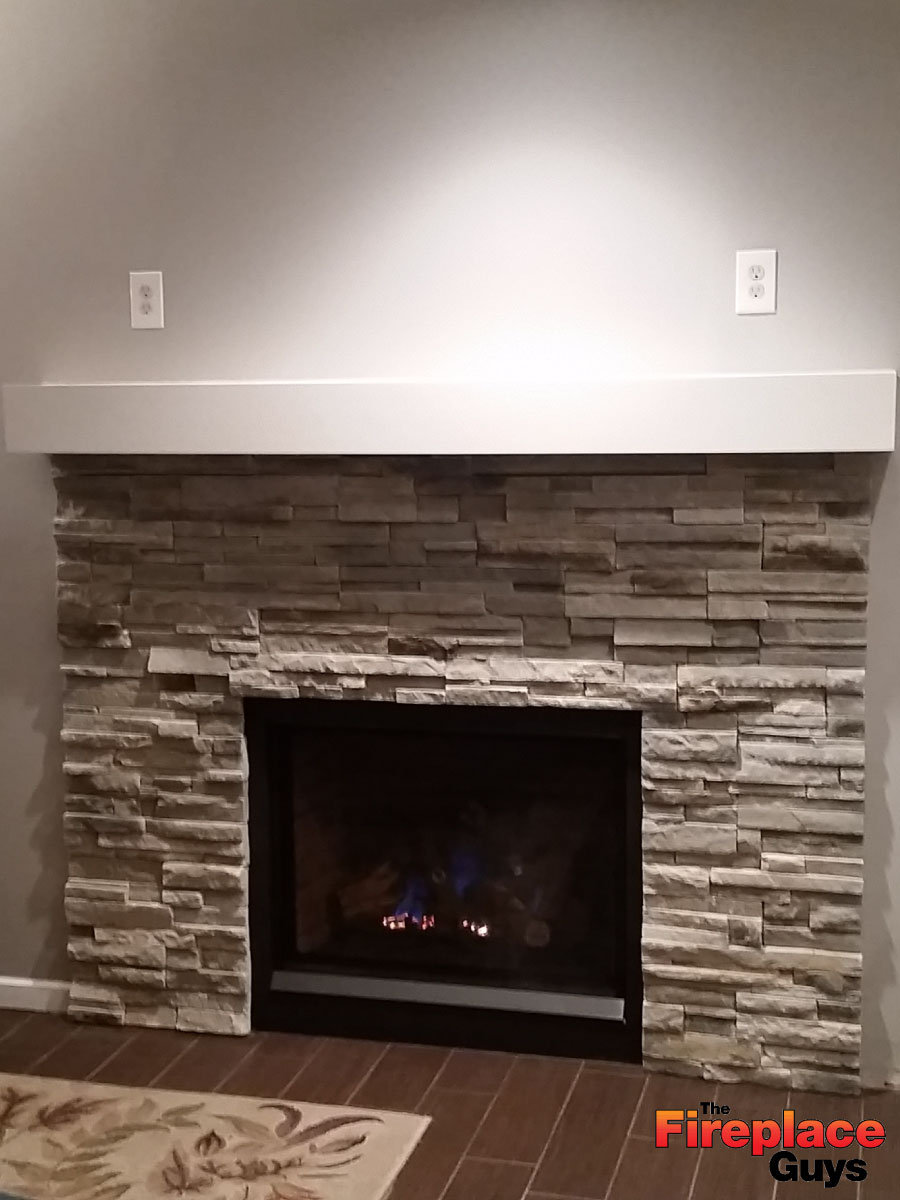 Gas Fireplace Tune Up Minneapolis Clean Lines The Fireplace Guys