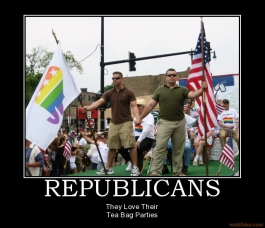 republican tea baggers