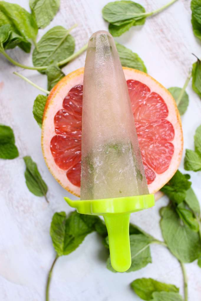 Grapefruit Mint Popsicles